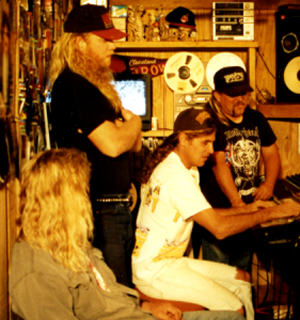 Vengeance Incorporated studio work