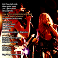 Vengeance Incorporated - Bad Live & Crazy - guy - band credits