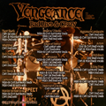 Vengeance Incorporated - Bad Live & Crazy - drums - song credits