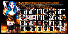 Vengeance Incorporated - Chase the Dragon booklet back cover - merchandise